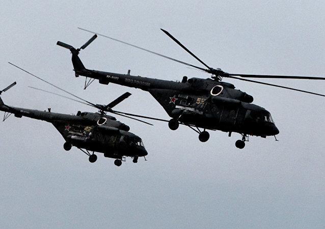 Helicópteros Mi-8 AMTSh
