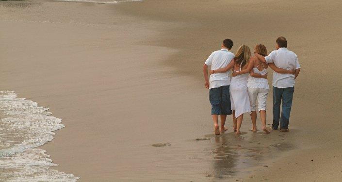 Una familia (imagen referencial)