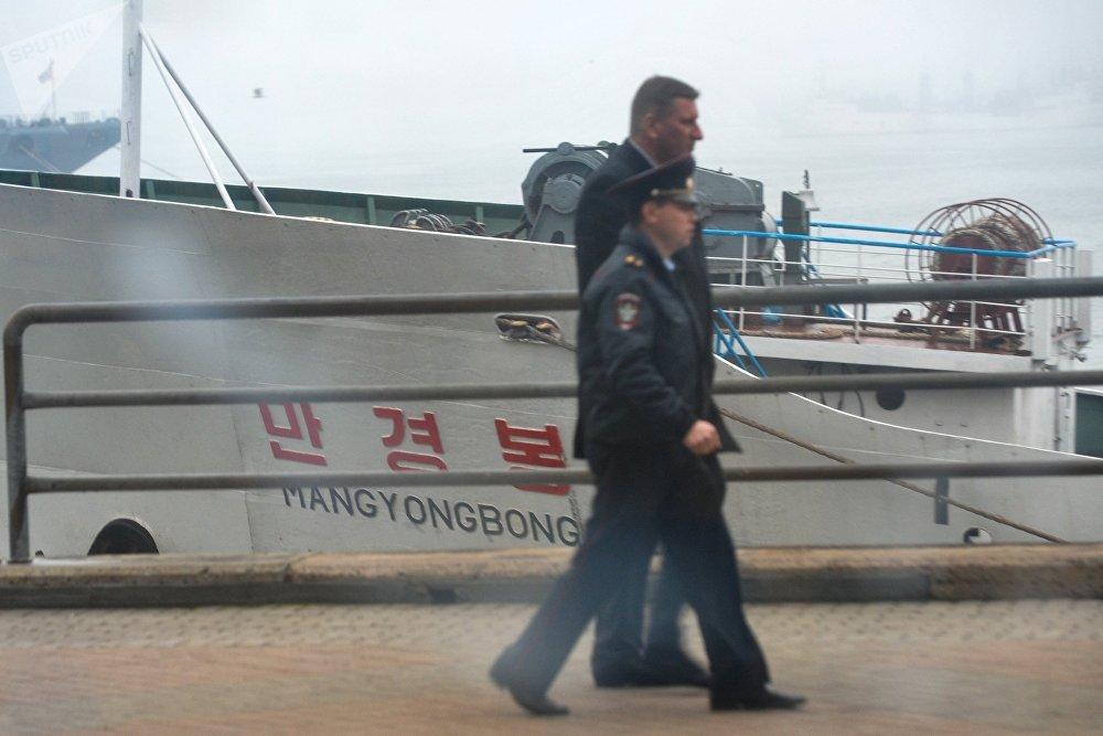 Primer ferri de la ruta Vladivostok-Rajin