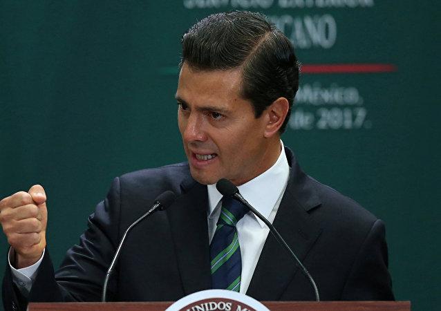 Enrique Peña Nieto, expresidente de México (archivo)