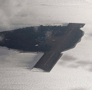 Thitu, isla de archipiélago Spartly (archivo)