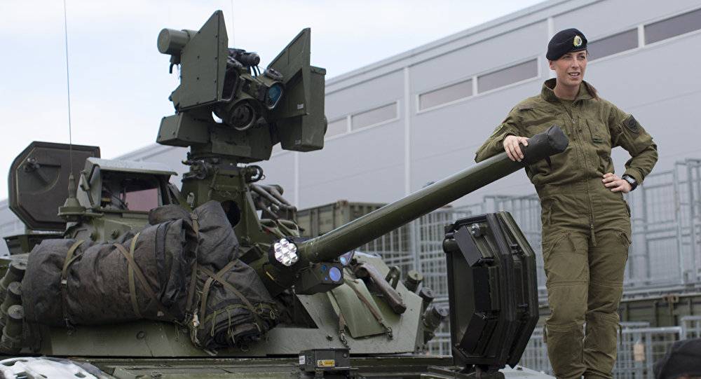 Militares estadounidenses en Noruega