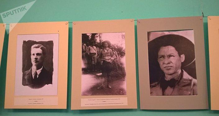 Muestra fotográfica dedicada a la vida y la lucha de Augusto César Sandino