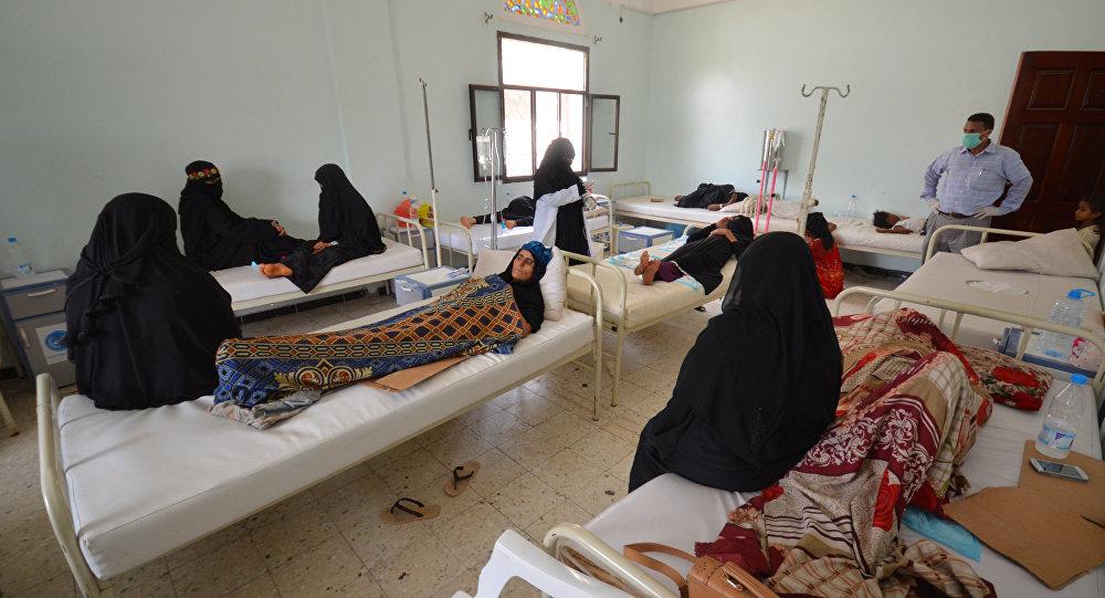 Declaran emergencia ante cólera en Yemen