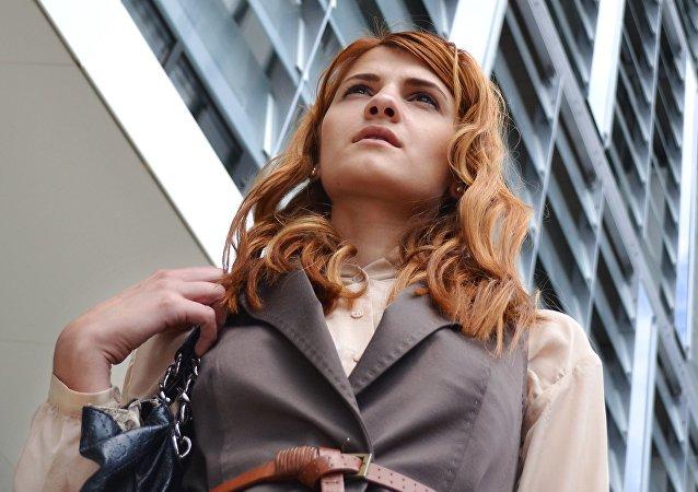 Una mujer política (imagen referencial)