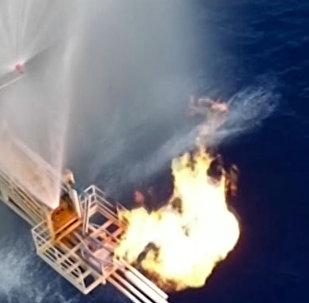 Así extrae Pekín el 'hielo combustible' en el mar de China Meridional