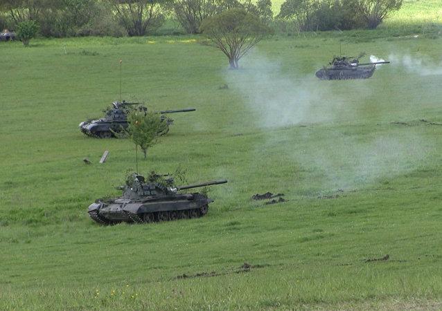 La OTAN muestra sus músculos en los ejercicios Saber Junction en Rumanía