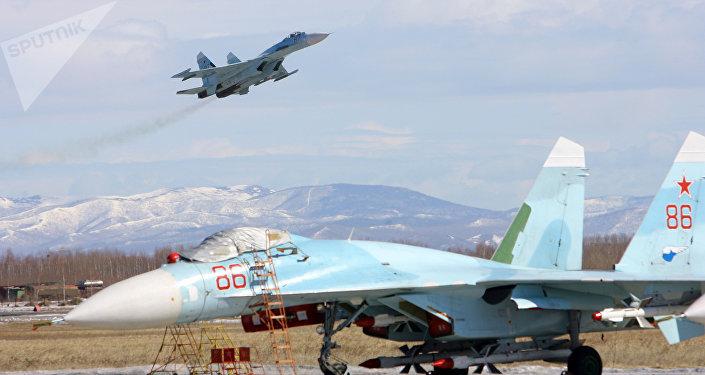 Cazas Su-27 SM3