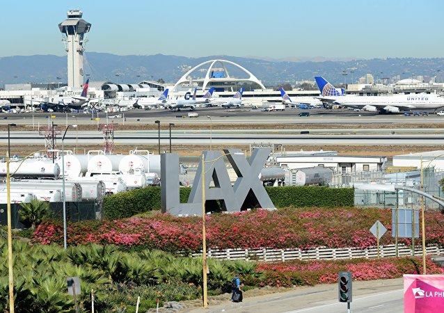 El aeropuerto internacional de Los Ángeles (archivo)