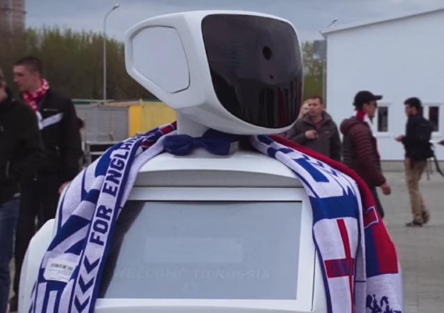El robot AlanTim