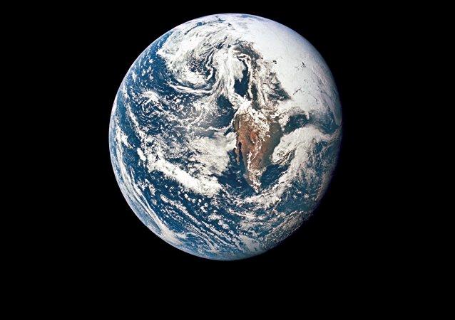 La Tierra vista desde el Apolo 10 en 1969