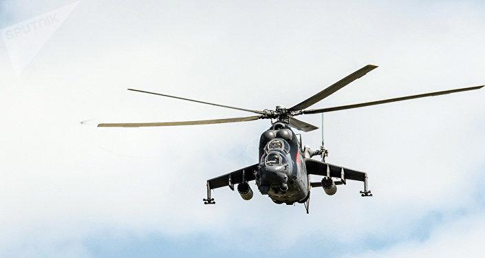 El helicóptero ruso Mi-24