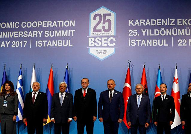 La cumbre de BSEC