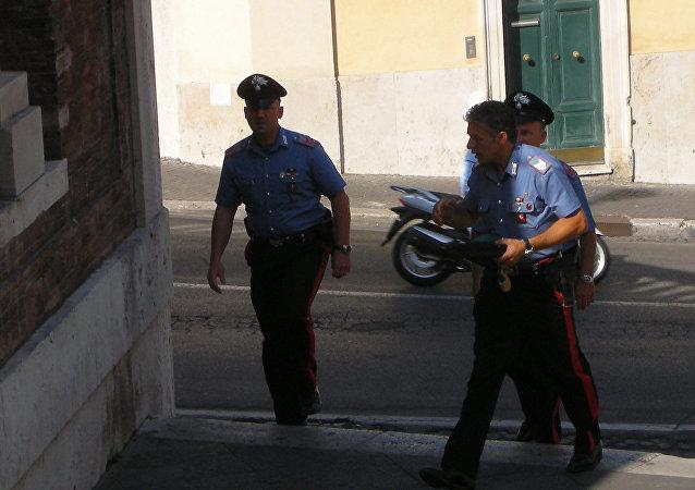 Policía italiana (archivo)