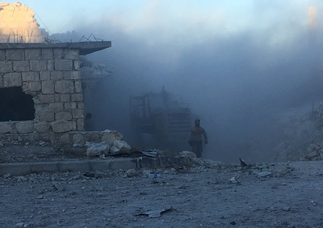 Ataques con morteros en Alepo