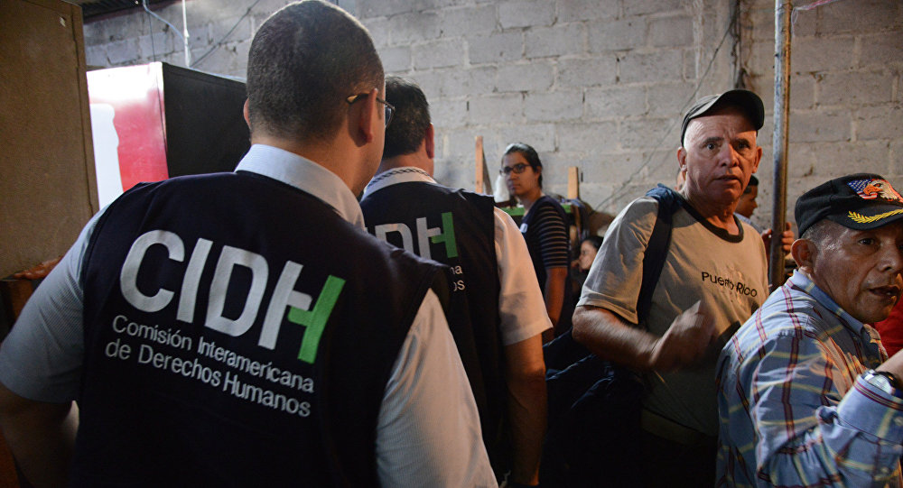 Miembros del CIDH (archivo)