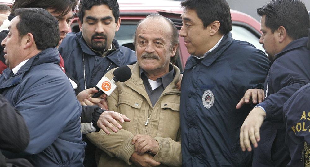 Raul Iturriaga, subdirector de la Policía Secreta de la dictadura