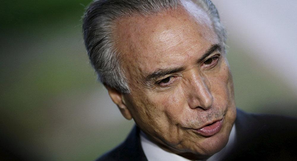 Brazil's Vice President Michel Temer