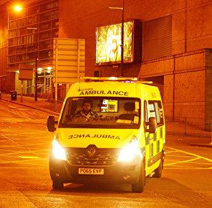 Ambulancia en Mánchester