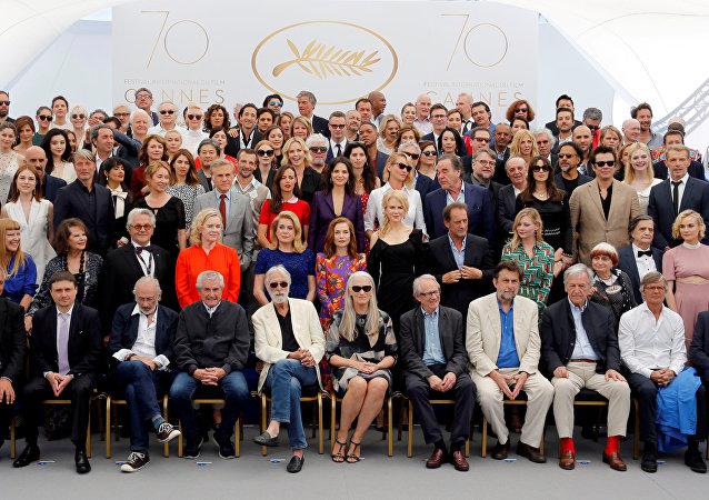 Actores, directores y miembros del jurado del Festival de Cannes
