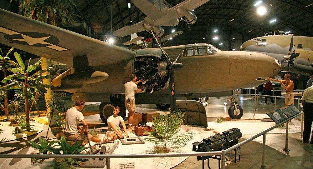 Douglas A-20 Havoc en el Museo del Aire en Dayton, Ohio