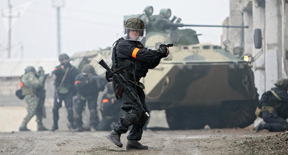 Ejercicios antiterroristas de FSB (archivo)