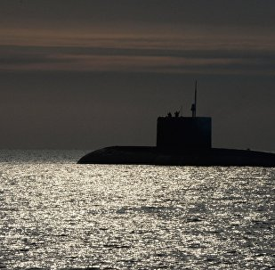 El submarino ruso (imagen referencial)