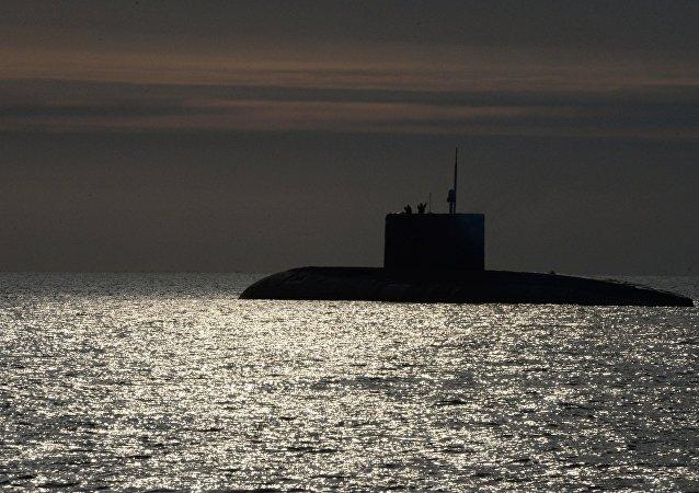 Un submarino diésel-eléctrico ruso del proyecto 636.3 Varshavianka (imagen referencial)