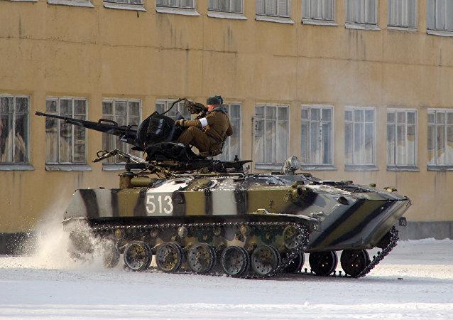 Vehículo blindado bielorruso