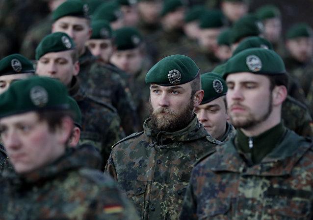 Soldados alemanes (imagen referencial)