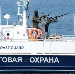 El entrenamiento de las fuerzas especiales del Servicio Federal de Seguridad ruso en Crimea