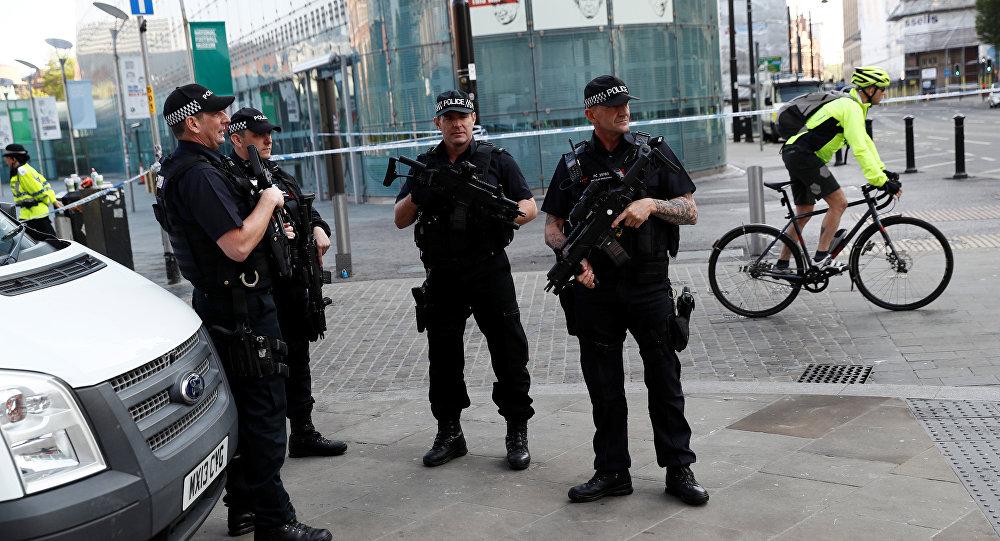 Policía británica en Mánchester (archivo)