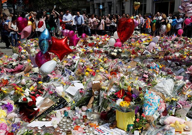 Homenaje a las víctimas del atentado en Mánchester