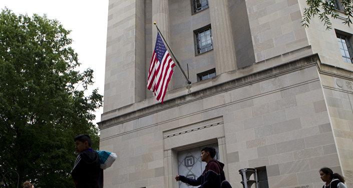 La sede del Departamento de Justicia de EEUU (archivo)