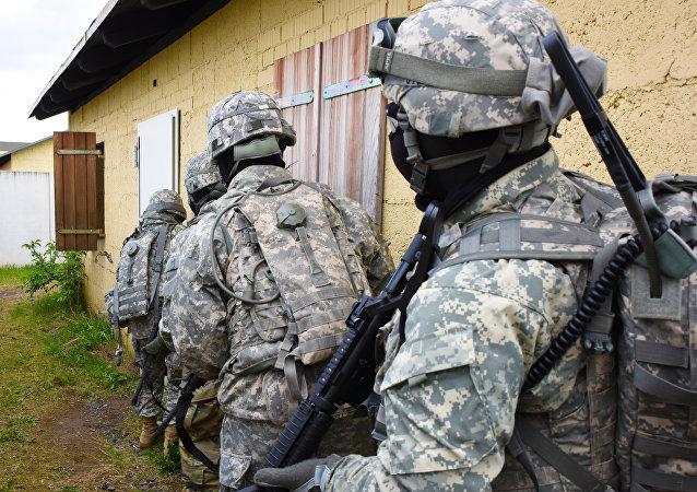 Militares del Comando Europeo del Ejército de EEUU