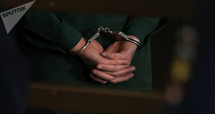 Un detenido (imagen referencial)