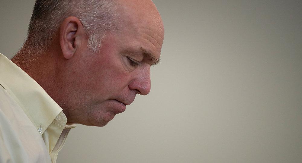 Greg Gianforte, candidato del Partido Republicano de EEUU al Senado por el estado de Montana