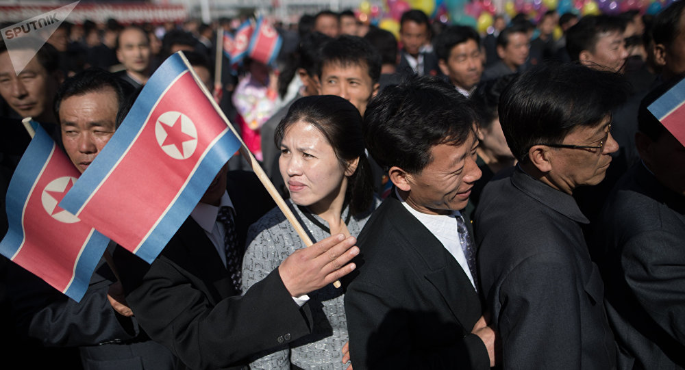 Norcoreanos (imagen referencial)