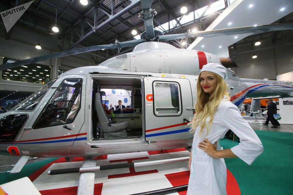 Un automóvil-helicóptero y otras novedades de la HeliRussia 2017