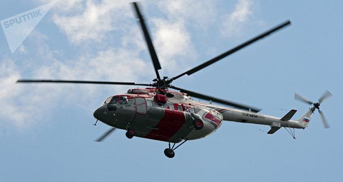 Un helicóptero Mi-171 (archivo)