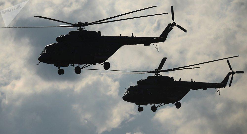 Helicópteros Mi-8