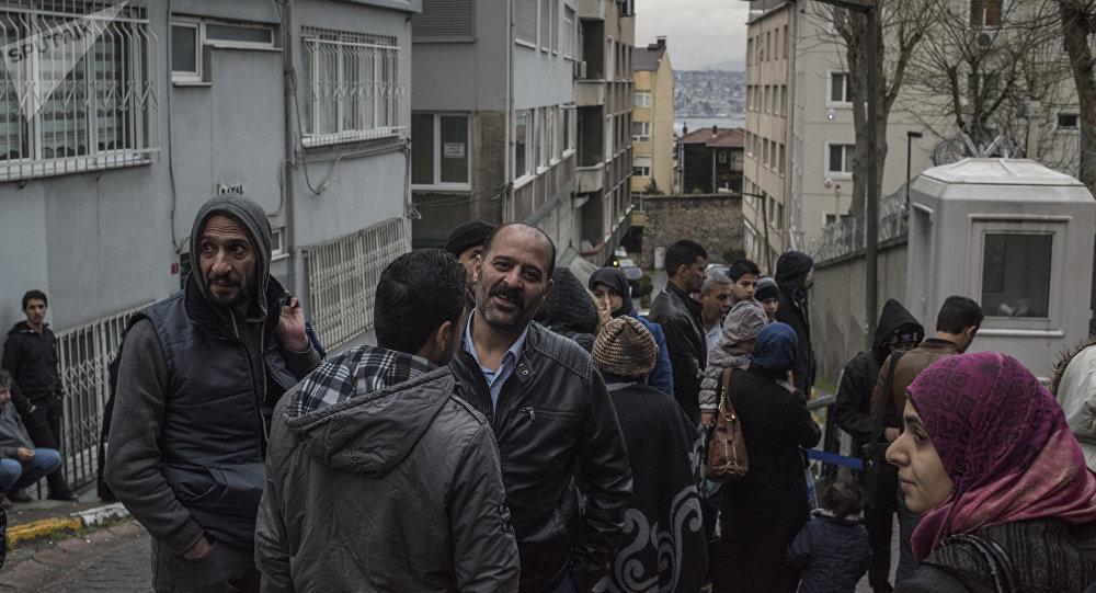 Refugiados sirios en Turquía (imagen referencial)