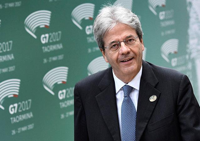 Paolo Gentiloni, primer ministro de Italia
