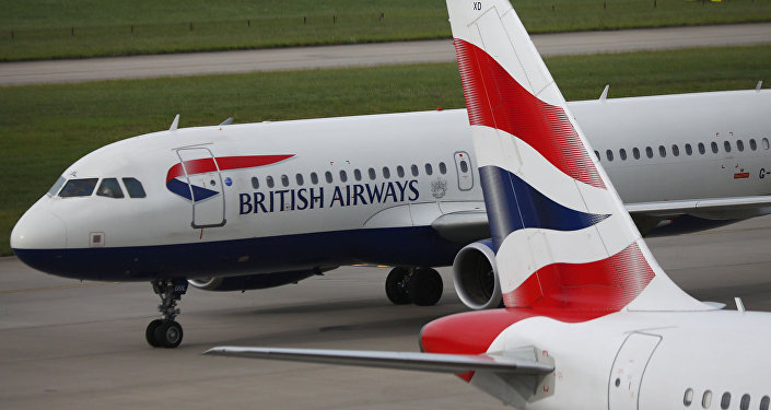Los aviones de British Airways el aeropuerto Heathrow