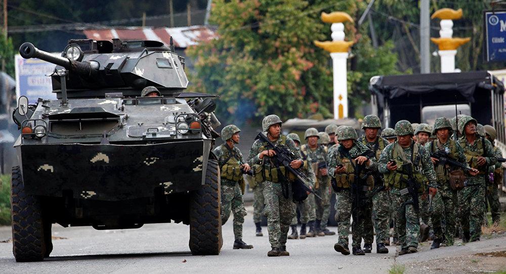 Militares de Filipinas en Marawi