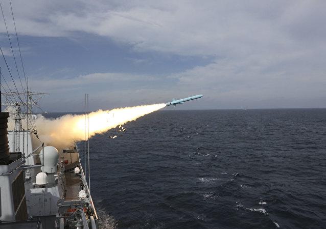 El lanzamiento de misiles en China (archivo)