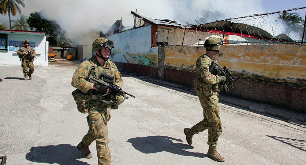 Soldados de Australia (archivo)