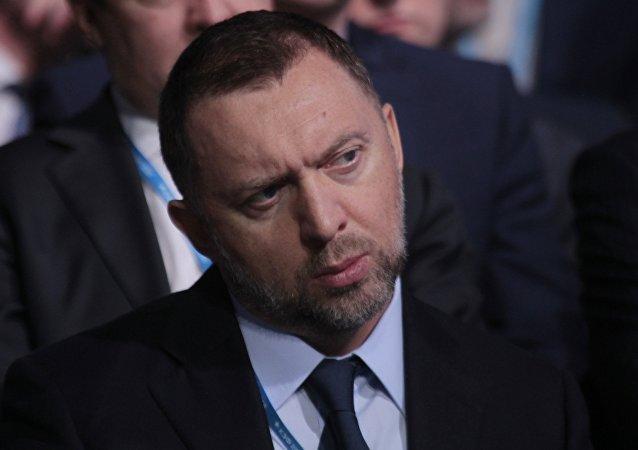 Oleg Deripaska, magnate metalúrgico ruso (archivo)