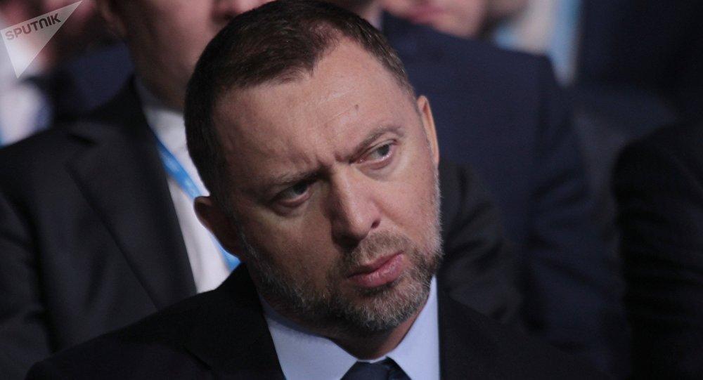 Oleg Deripaska, empresario ruso (archivo)