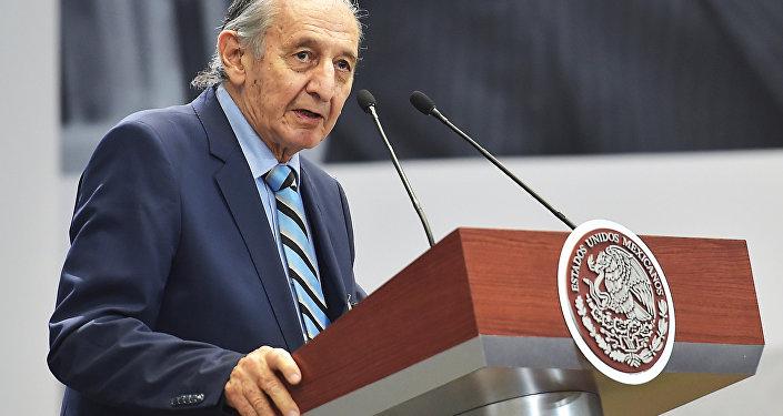 El escritor mexicano Eduardo Lizalde